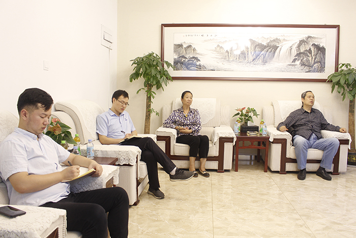 Professor Zhao Chuanshan from Qilu University of Technology visited our company for inspect